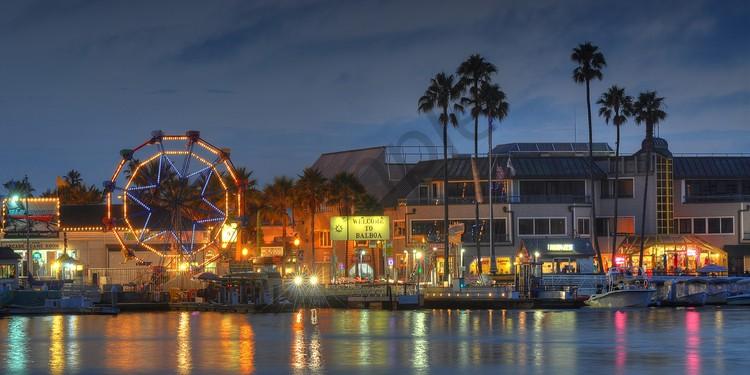 Balboa Fun Zone Newport Beach Look